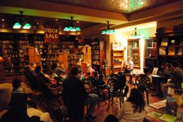 bookstore open mic night