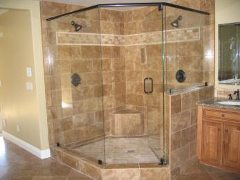 One-Piece-Corner-Shower-Stalls