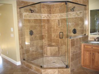 One-Piece-Corner-Shower-Stalls